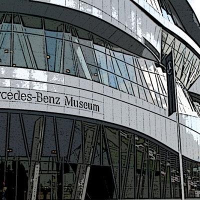 Visita al Museo Mercedes Benz Stuttgart.