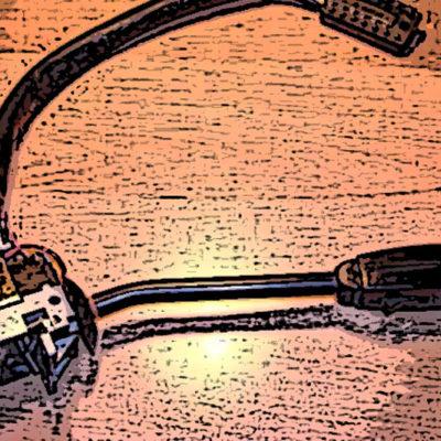 Reparación palanca de intermitente de Mercedes W115.