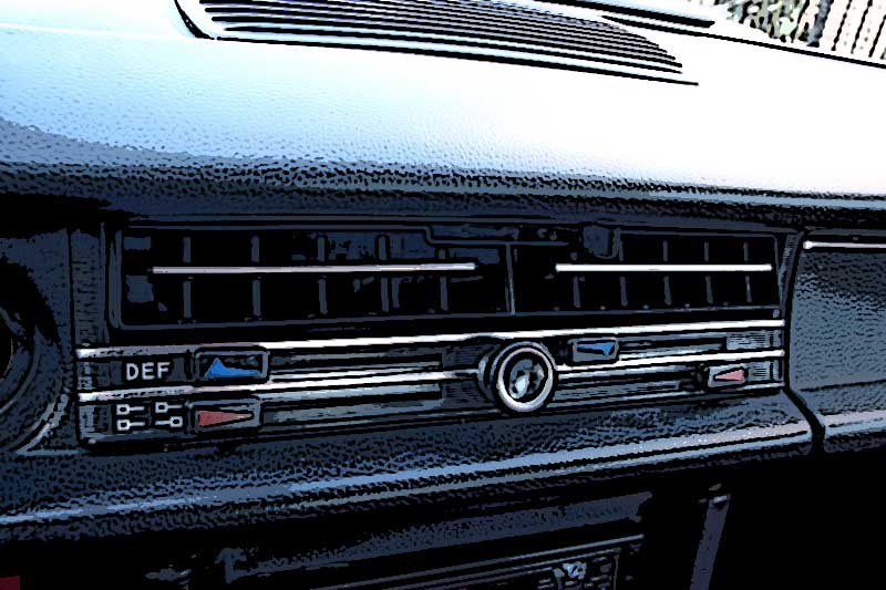El sistema de ventilación y calefacción del Mercedes /8 – Parte I