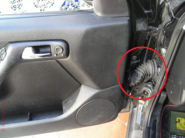 Problemas con elevalunas eléctricos del Volkswagen Golf 3.