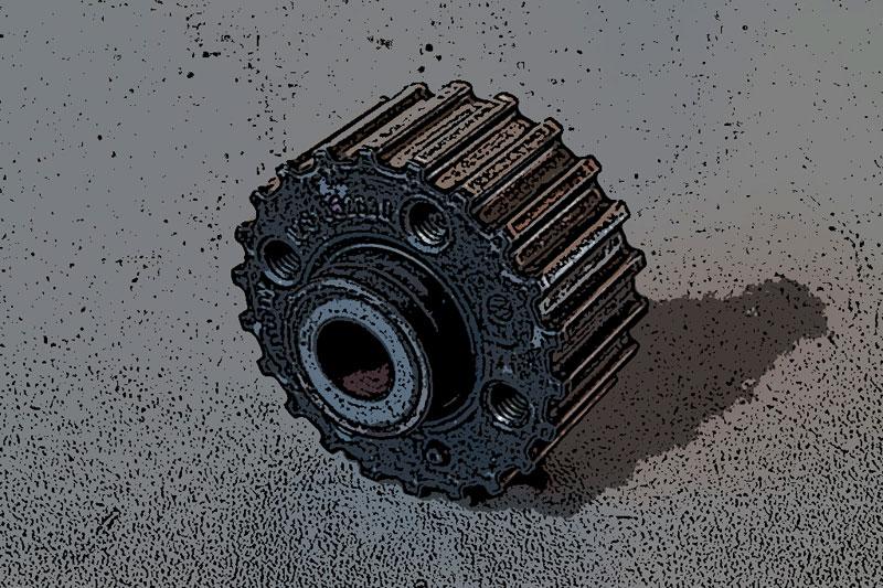 La polea del cigüeñal Motor TDI