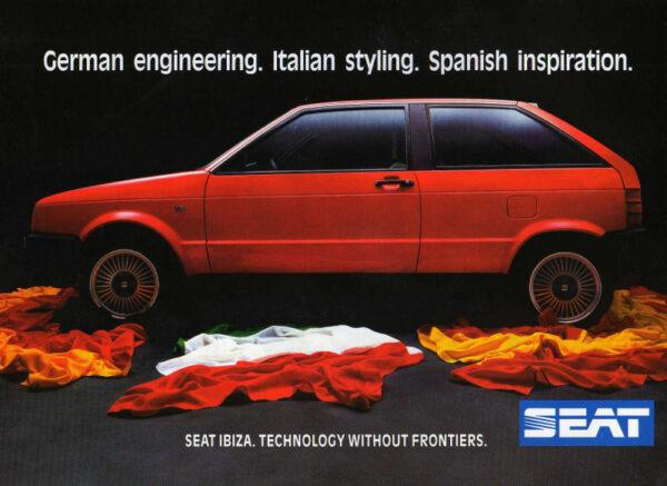 Anuncio / Publicidad Seat Ibiza año 1986