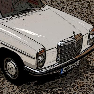 Los precios del Mercedes W114/W115.