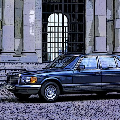 Recambios usados para Mercedes de la gama W126