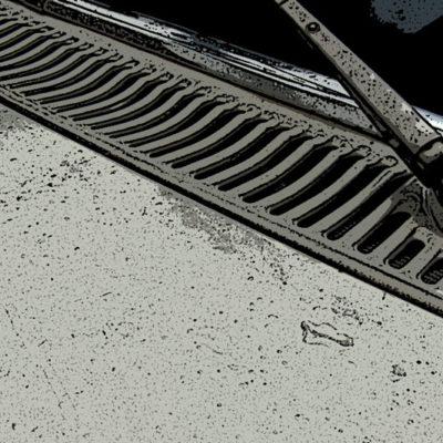 Rejilla de ventilación Mercedes W114 / W115