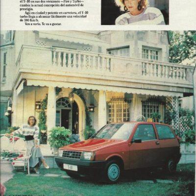Publicidad Lancia Y1