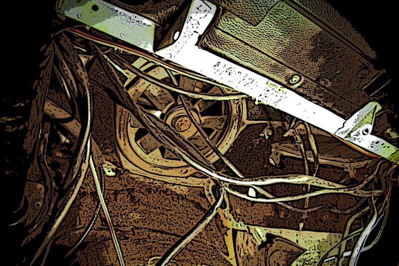 Sistema de calefacción y ventilación del Mercedes W115 – Parte II – Desmontar el ventilador de habitáculo